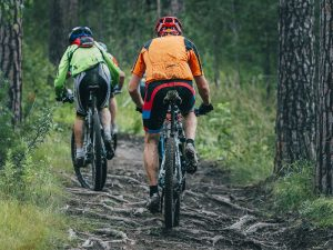 Cross-country cycling